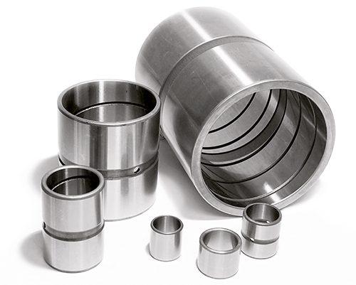 boccole in acciaio cementate